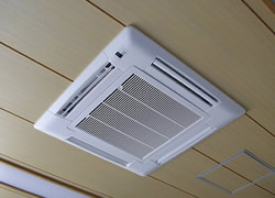 空調機器の販売及び施工